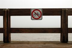 No bike Royalty Free Stock Photography