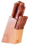 Noża blok Zdjęcie Royalty Free