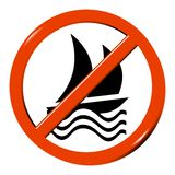 No boat Royalty Free Stock Images
