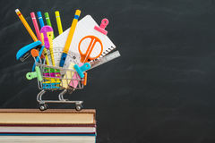 No body like back to school, but you still need to buy for schoo Stock Photography