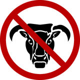No bull Stock Photography