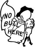 No Bull Here Stock Image