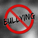 No Bulling sign Royalty Free Stock Images