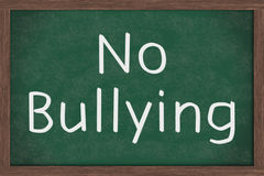 No Bullying Royalty Free Stock Image