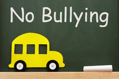 No bullying allowed Stock Image