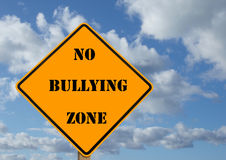 No bullying sign stock images
