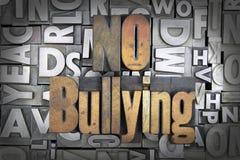 No Bullying Stock Image