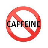 No caffeine sign Stock Image