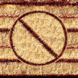 No Cake Symbol Stock Photography