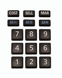 No calculator Stock Photography