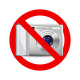 No camera sign Royalty Free Stock Images
