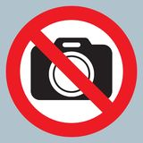 Smoke puff icon vector illustrationNo cameras allowed sign. Red prohibition no camera sign. No taking pictures, no photographs sig. No cameras allowed sign. Red vector illustration