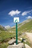 No camp sign Stock Image