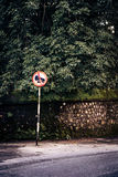 No car horn sign Royalty Free Stock Images