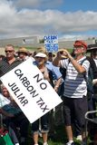 No Carbon Tax Rally, Stock Photography