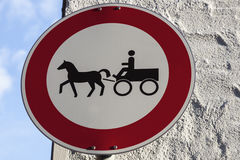No Carriages In Rothenburg Stock Photos