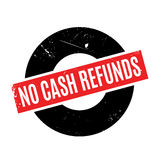 No Cash Refunds rubber stamp Royalty Free Stock Photography