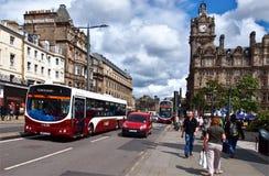 No centro de Edimburgo imagem de stock royalty free