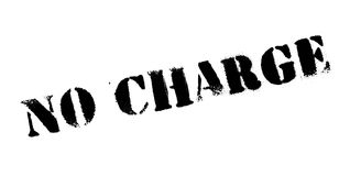No Charge rubber stamp vector illustration