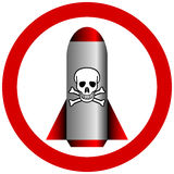 No chemical weapon sign Royalty Free Stock Photos