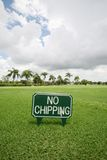 No Chipping Stock Image