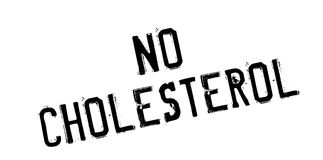 No Cholesterol rubber stamp Stock Images