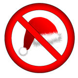 No christmas for you!. Sign: no christmas vector illustration