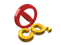 No Co2 Royalty Free Stock Photography
