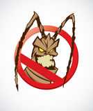 No cockroach Royalty Free Stock Photos