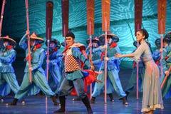 """No comando do sonho do """"The do drama da expedição-dança do  de seda marítimo de Road†Imagens de Stock Royalty Free"""