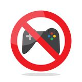 No computer games Stock Images