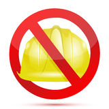 No constructions allow sign Royalty Free Stock Images