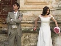 No contract. (wedding couple Stock Image