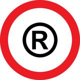 No copyright sign Royalty Free Stock Images