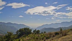 No coração das montanhas Foto de Stock Royalty Free