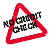 No Credit Check rubber stamp Stock Photos