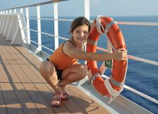 No cruzeiro Foto de Stock