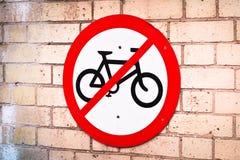 No cycling Stock Photos