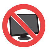 No. d'ordinateur images libres de droits