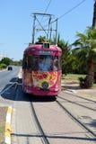 NO1 de tram à Antalya, Turquie Photo libre de droits