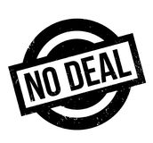 No Deal rubber stamp Stock Photography
