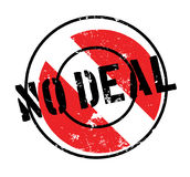 No Deal rubber stamp Stock Photo
