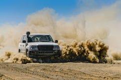 No deserto Fotografia de Stock