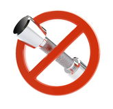 No di Fitnes Fotografie Stock