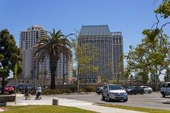 No dia de mola nas ruas da cidade de San Diego Imagens de Stock