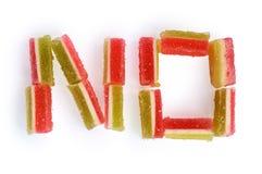 No. do doce de fruta Fotografia de Stock