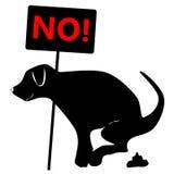 No dog dung Stock Photo