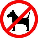 No Dog, Sign Royalty Free Stock Photography