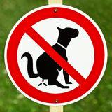 No Dogs Stock Images