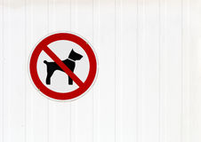 No Dogs Stock Image